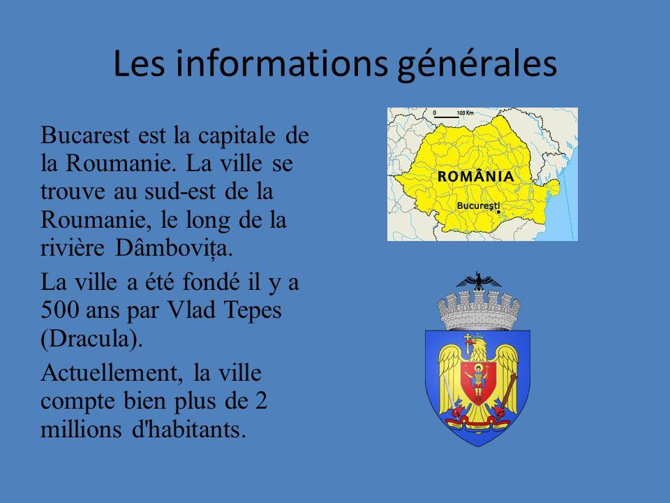 Les informations générales