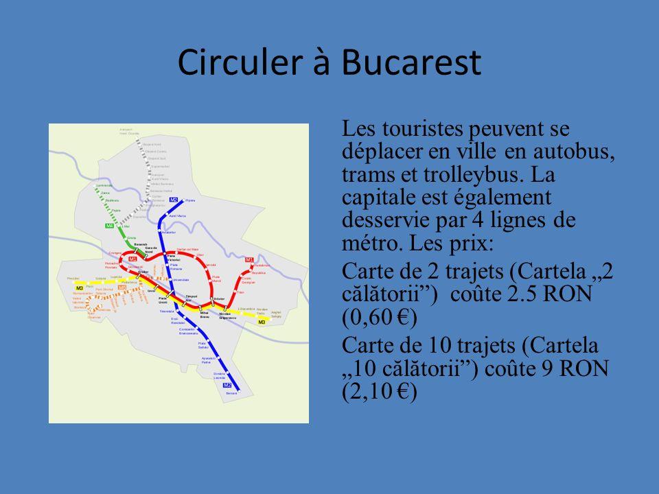 Circuler à Bucarest