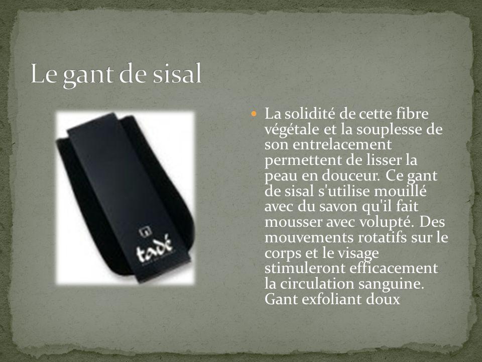 Le gant de sisal