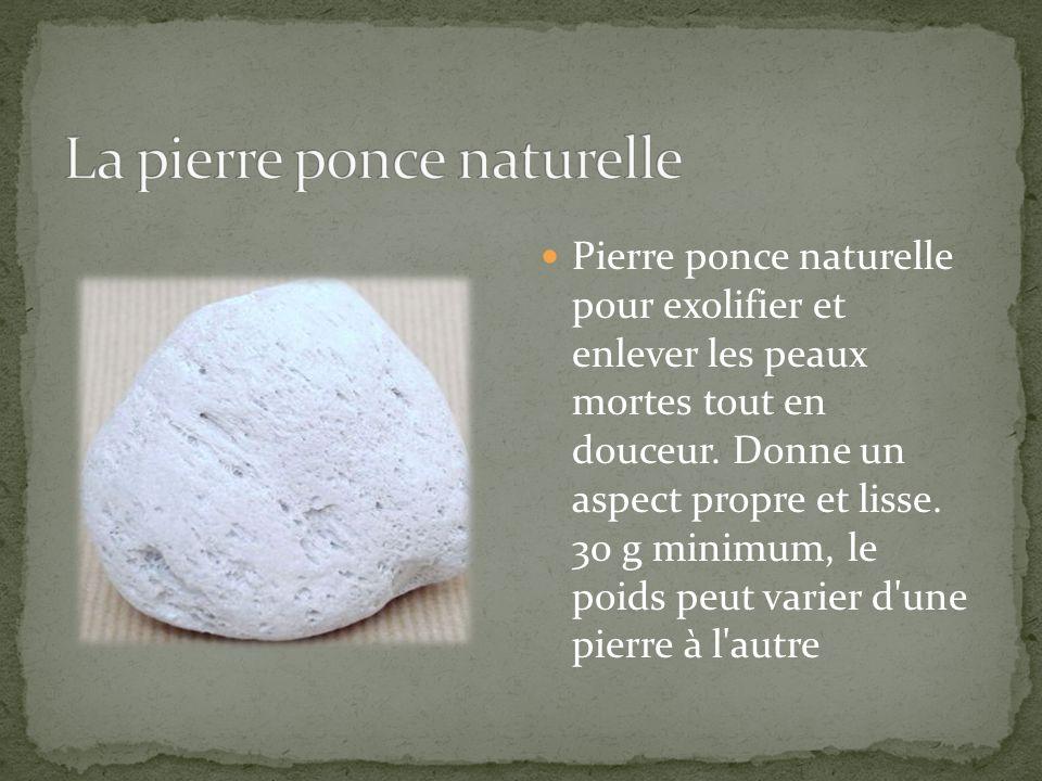 La pierre ponce naturelle