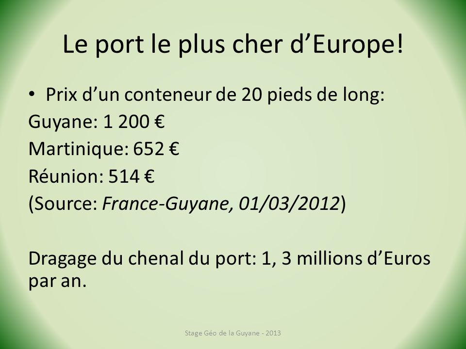 Le port le plus cher d'Europe!