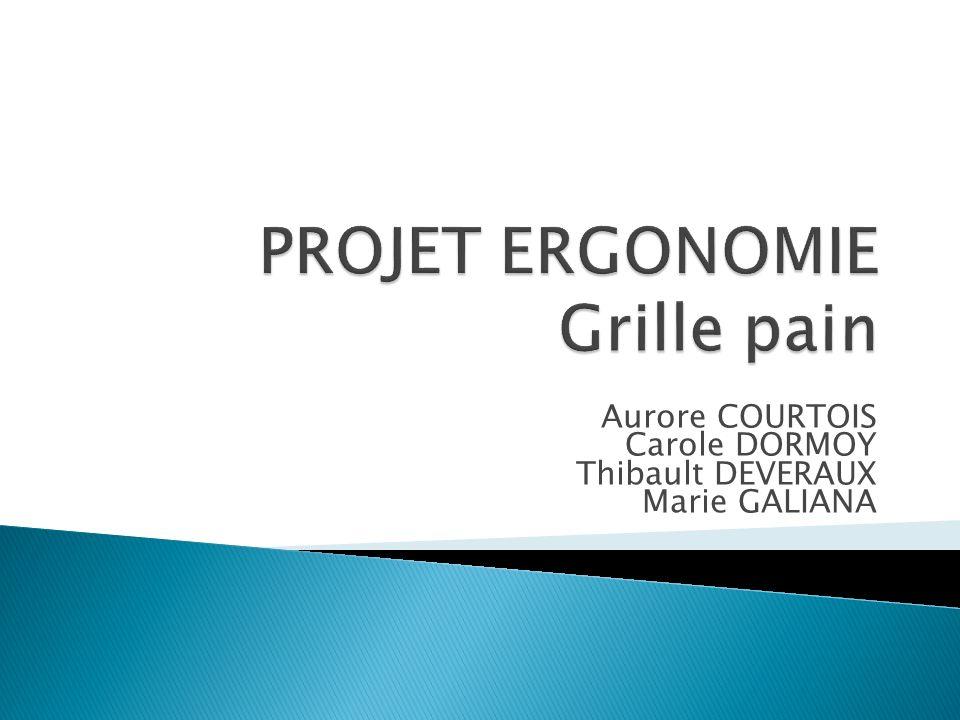 Projet Ergonomie Grille pain