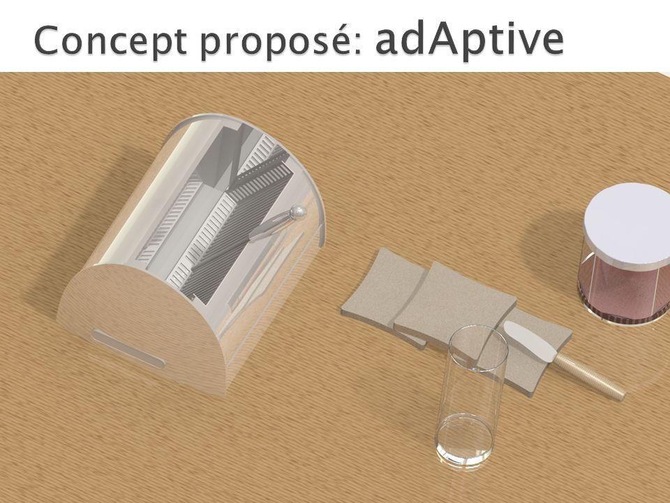 Concept proposé: adAptive