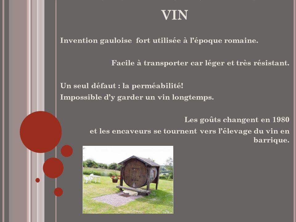 L'histoire du tonneau de vin