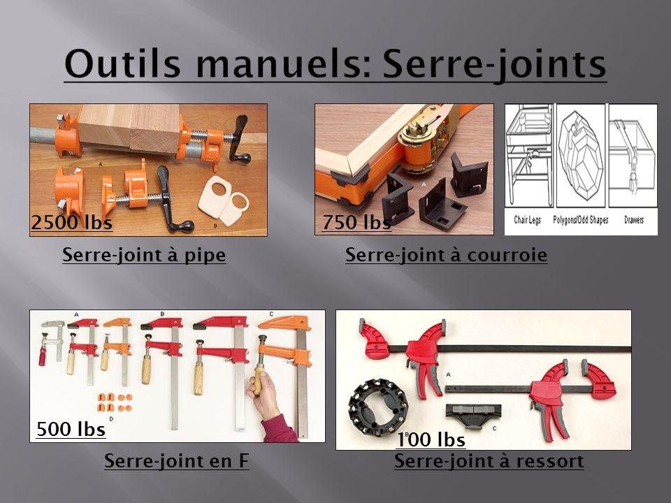 Outils manuels: Serre-joints