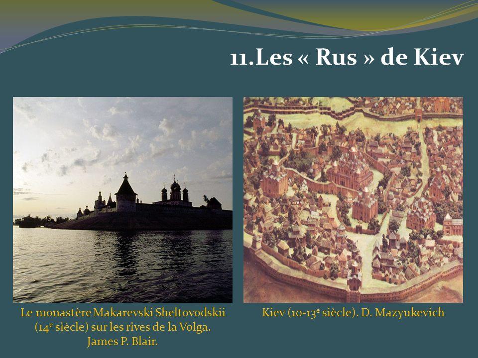 Kiev (10-13e siècle). D. Mazyukevich