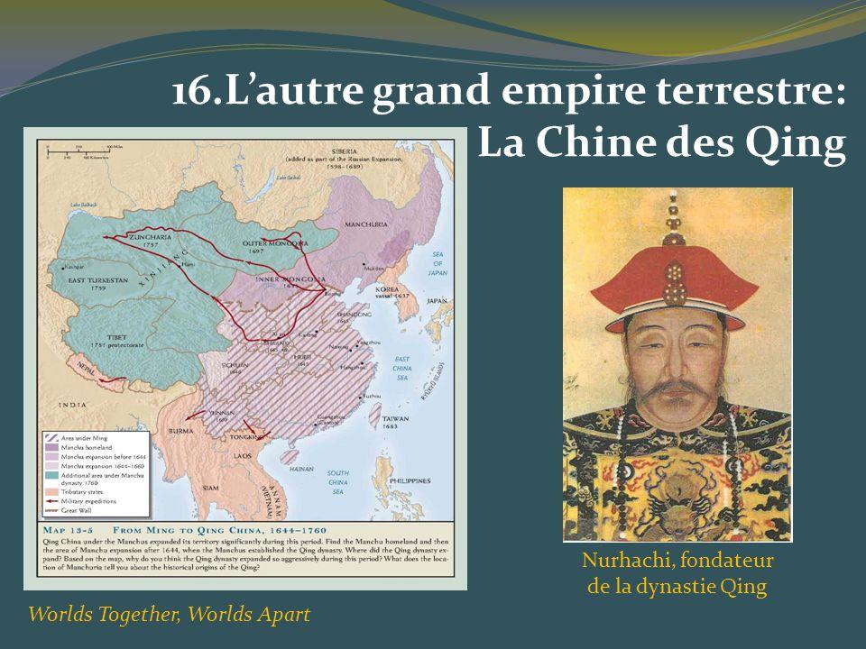 Nurhachi, fondateur de la dynastie Qing