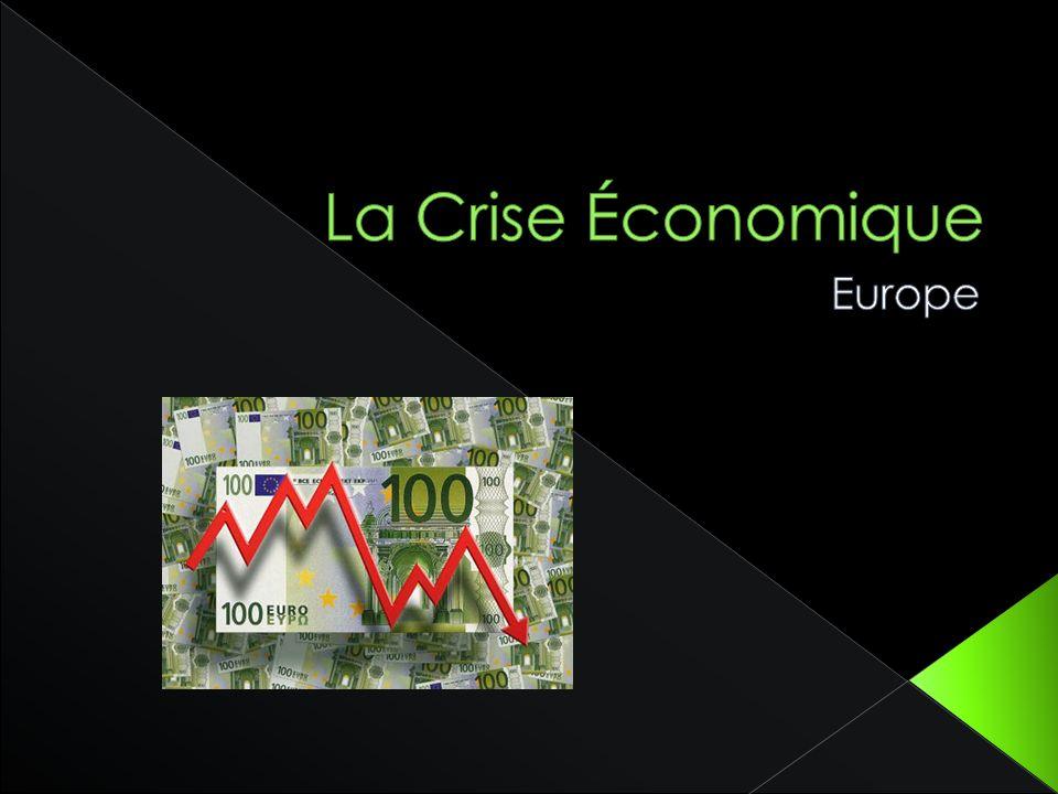 La Crise Économique Europe