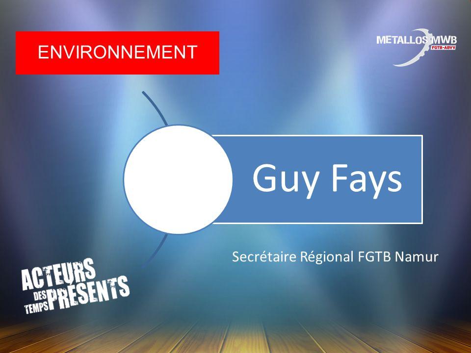 Secrétaire Régional FGTB Namur