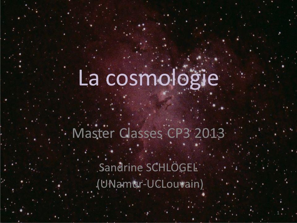 Master Classes CP3 2013 Sandrine SCHLÖGEL (UNamur-UCLouvain)