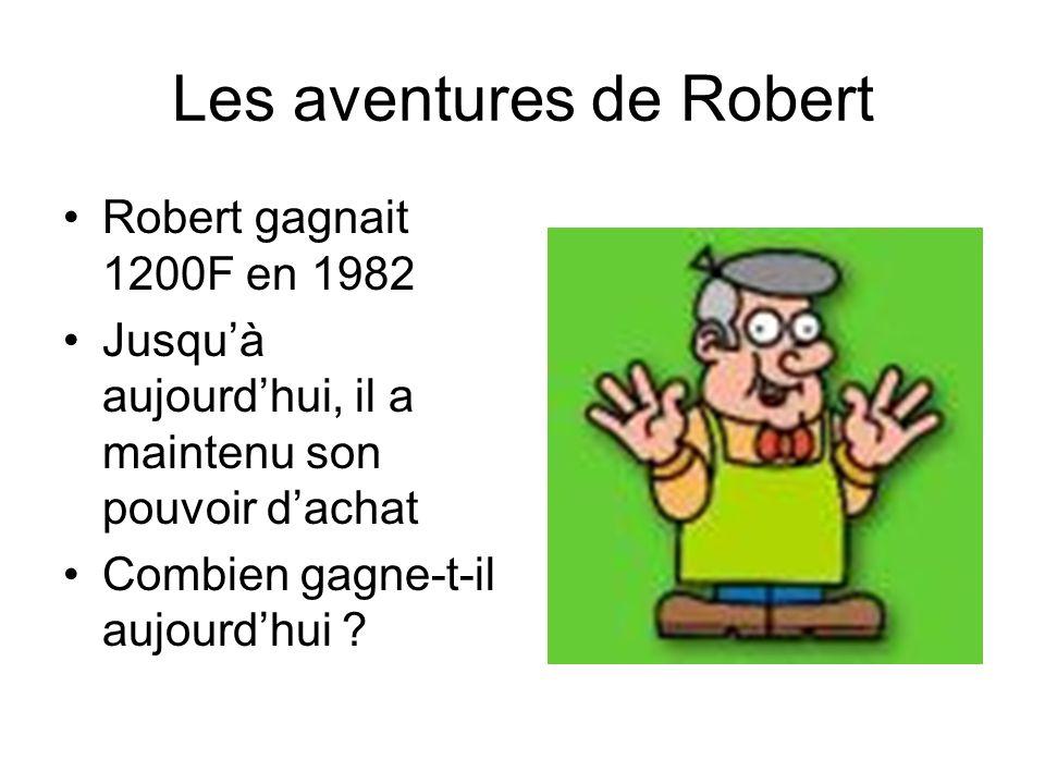 Les aventures de Robert