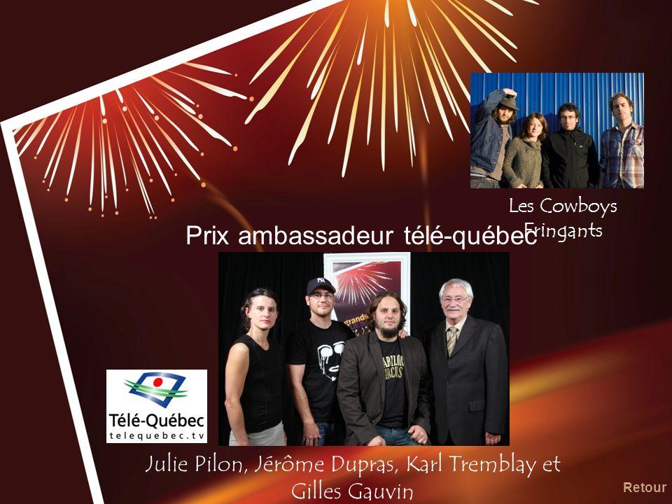 Prix ambassadeur télé-québec