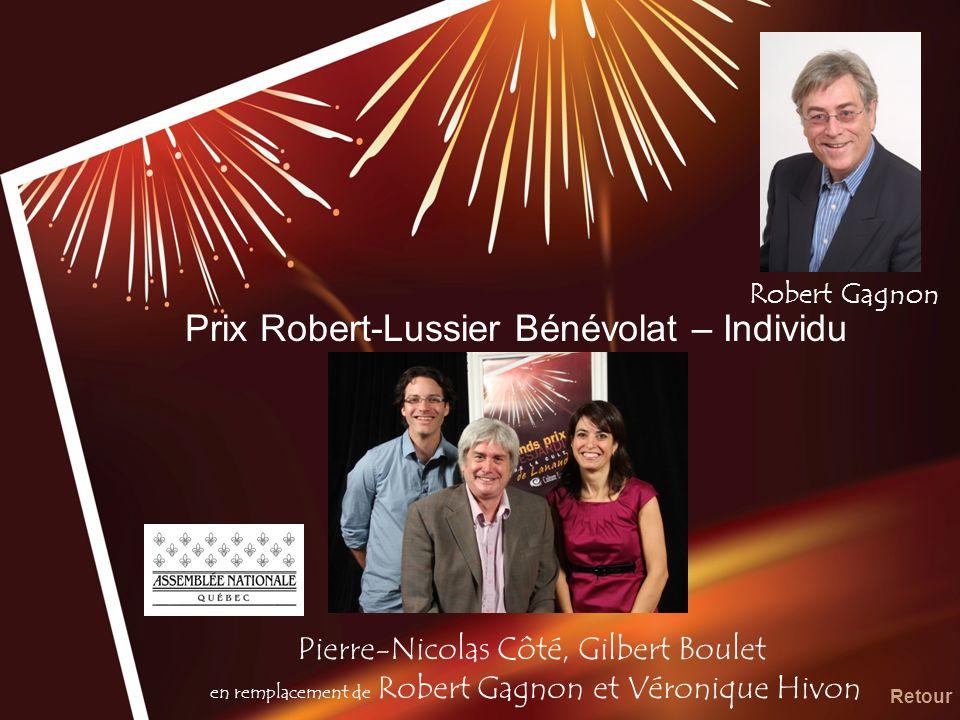 Prix Robert-Lussier Bénévolat – Individu