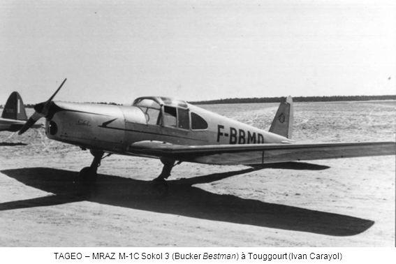 TAGEO – MRAZ M-1C Sokol 3 (Bucker Bestman) à Touggourt (Ivan Carayol)