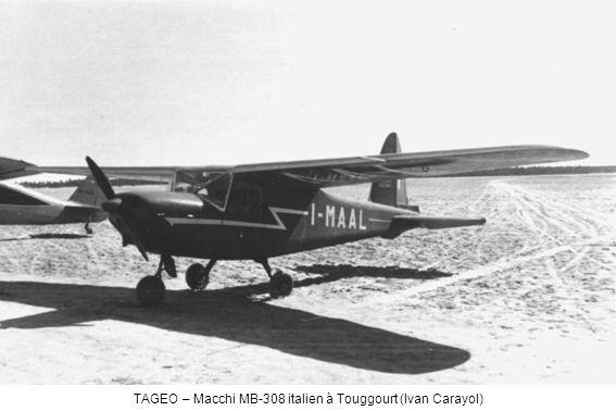 TAGEO – Macchi MB-308 italien à Touggourt (Ivan Carayol)