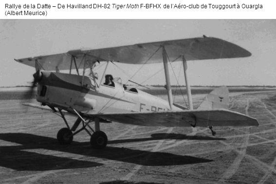 Rallye de la Datte – De Havilland DH-82 Tiger Moth F-BFHX de l'Aéro-club de Touggourt à Ouargla