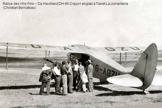 Rallye des Vins Fins – De Havilland DH-89 Dragon anglais à Tiaret-La Jumenterie