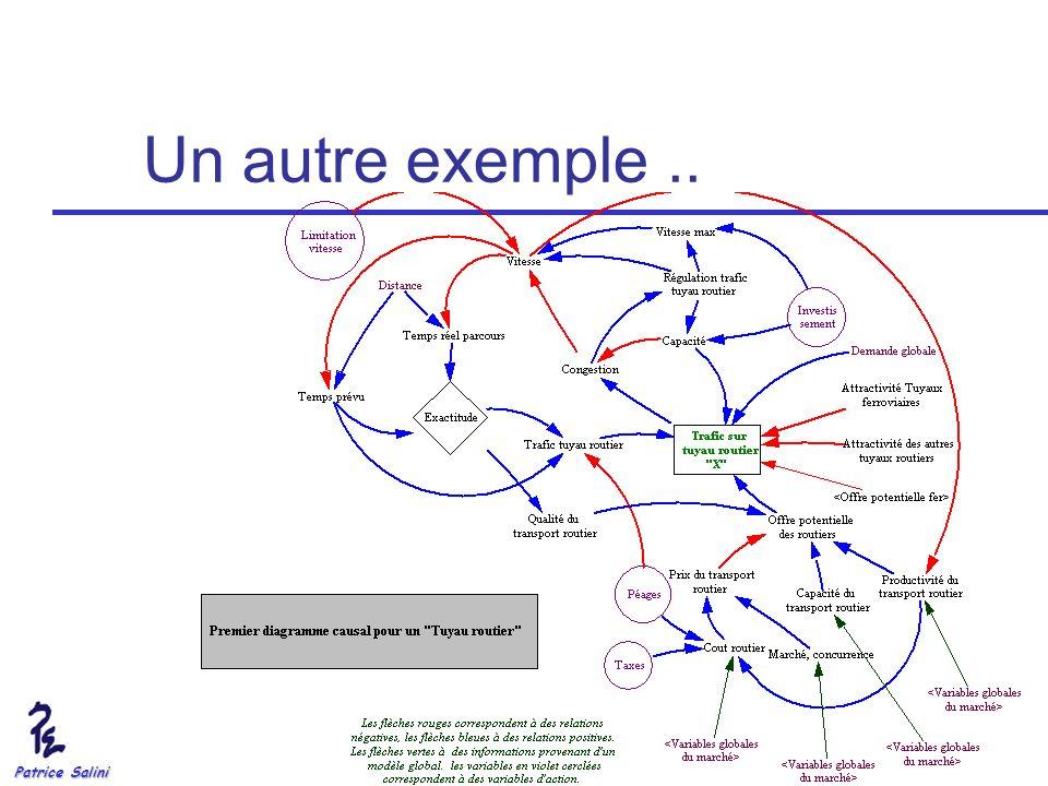Un autre exemple .. Patrice Salini