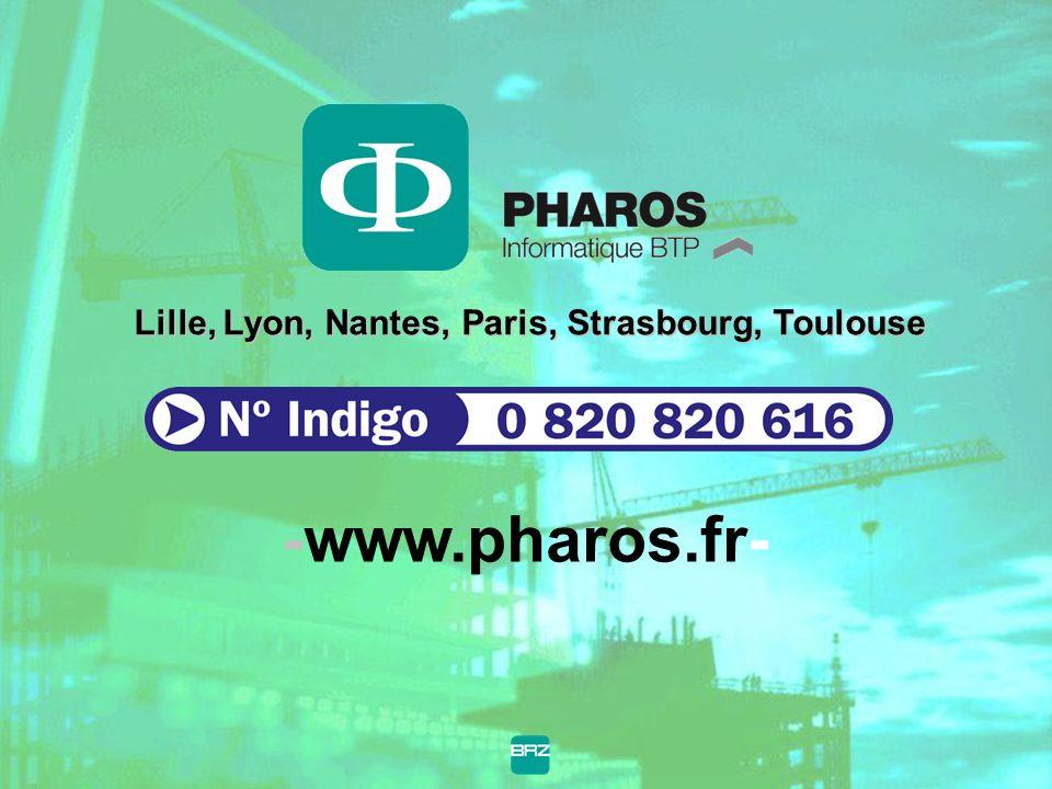 Lille, Lyon, Nantes, Paris, Strasbourg, Toulouse