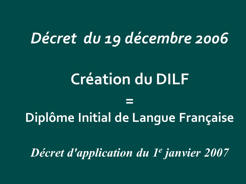 = Diplôme Initial de Langue Française
