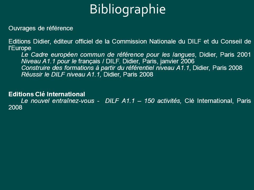Bibliographie Ouvrages de référence