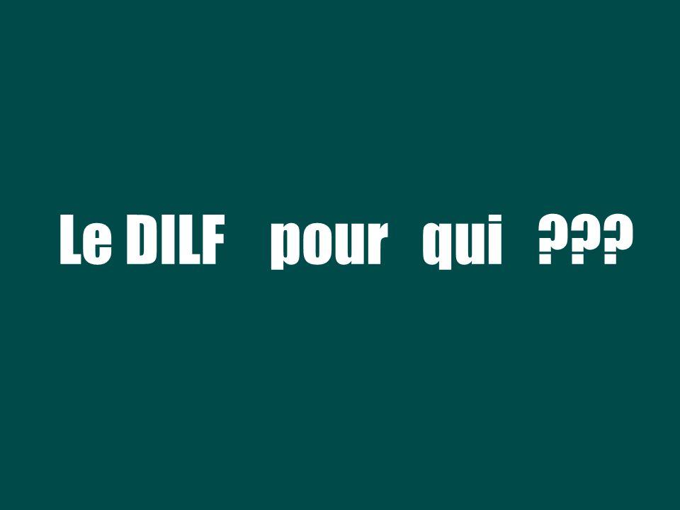 Le DILF pour qui