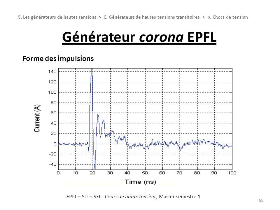 Générateur corona EPFL