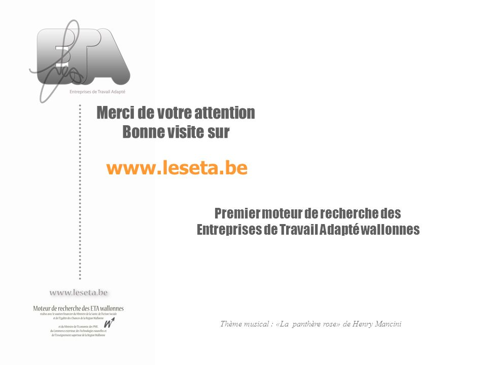 www.leseta.be Merci de votre attention Bonne visite sur