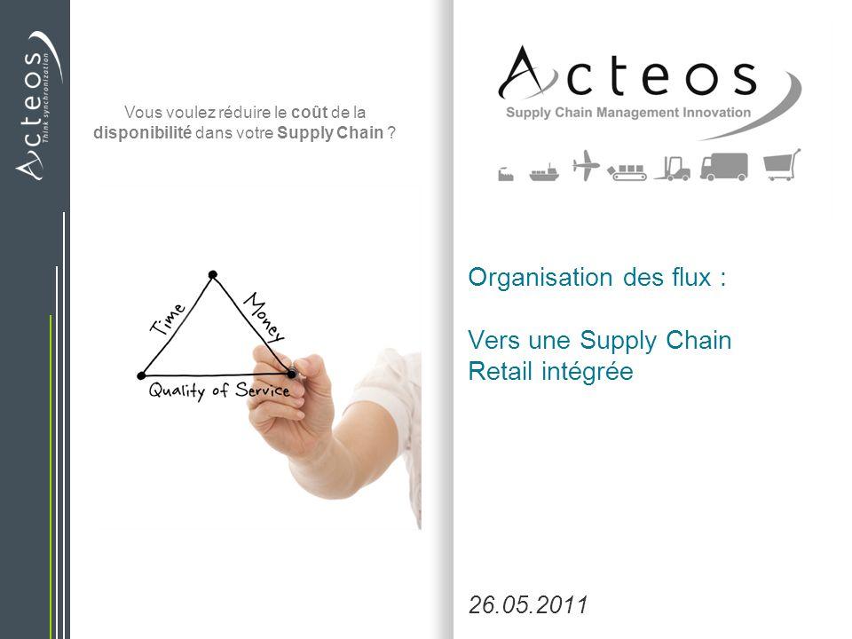 Vous voulez réduire le coût de la disponibilité dans votre Supply Chain