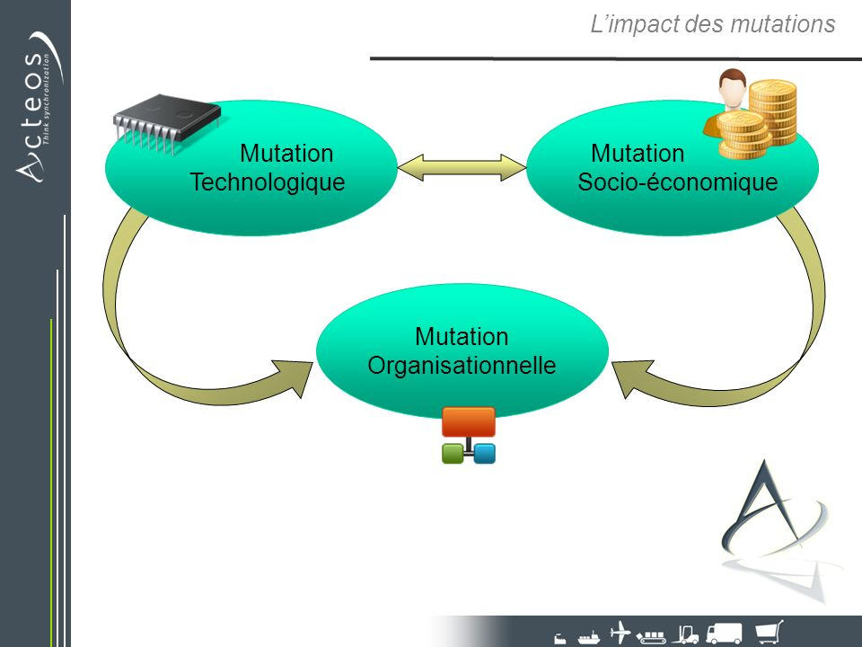 L'impact des mutations