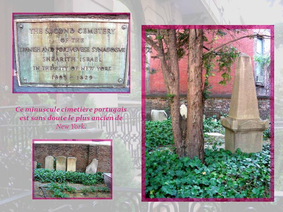 Ce minuscule cimetière portugais est sans doute le plus ancien de New York.