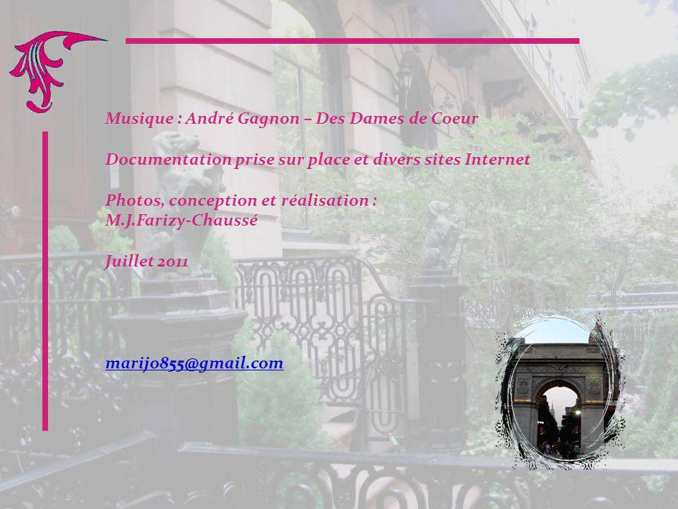 Musique : André Gagnon – Des Dames de Coeur
