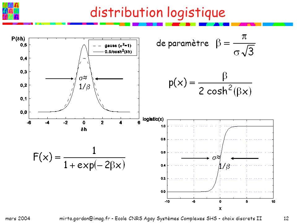distribution logistique