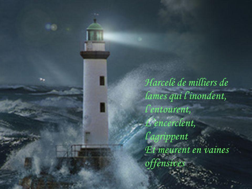 Seul, Stoïque, le gardien de phare coupé du monde,