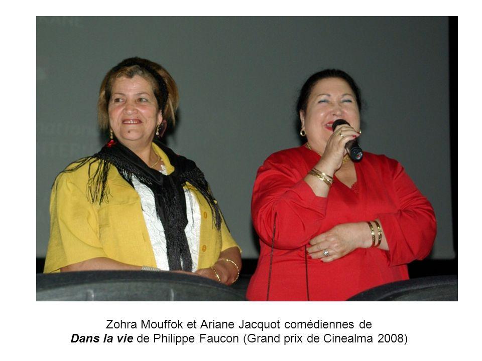 Zohra Mouffok et Ariane Jacquot comédiennes de