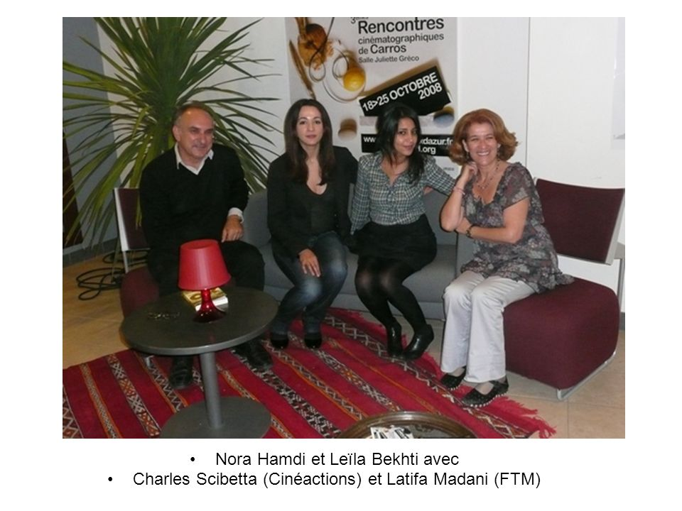 Nora Hamdi et Leïla Bekhti avec
