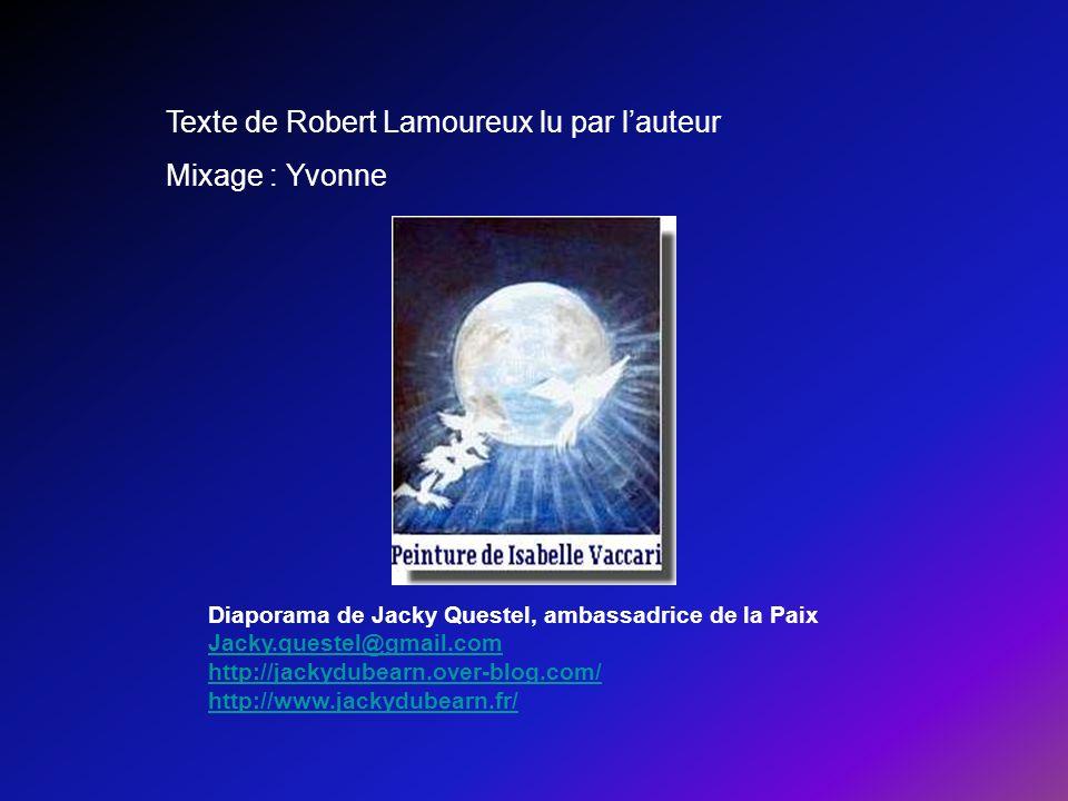 Texte de Robert Lamoureux lu par l'auteur Mixage : Yvonne