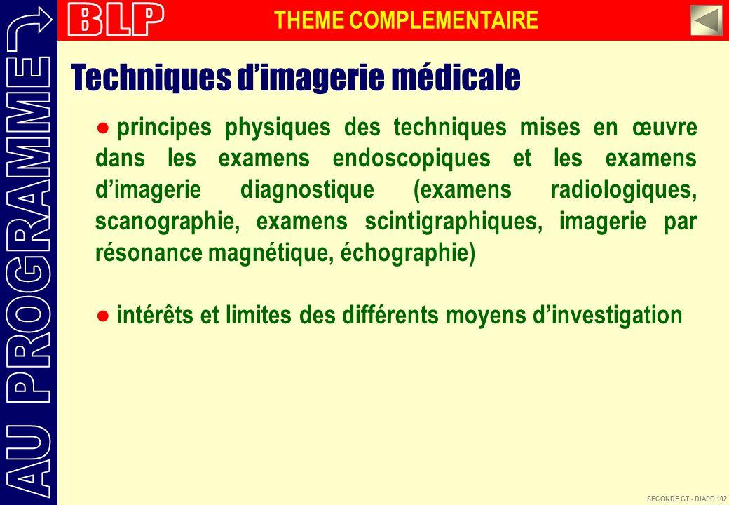 Techniques d'imagerie médicale