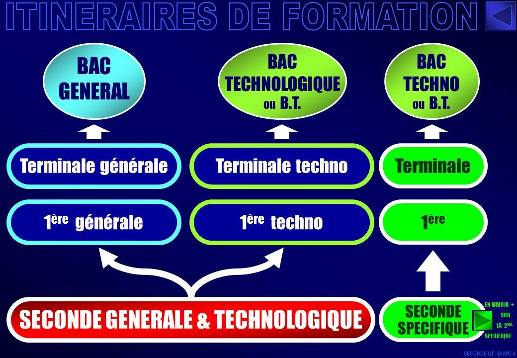 ITINERAIRES DE FORMATION