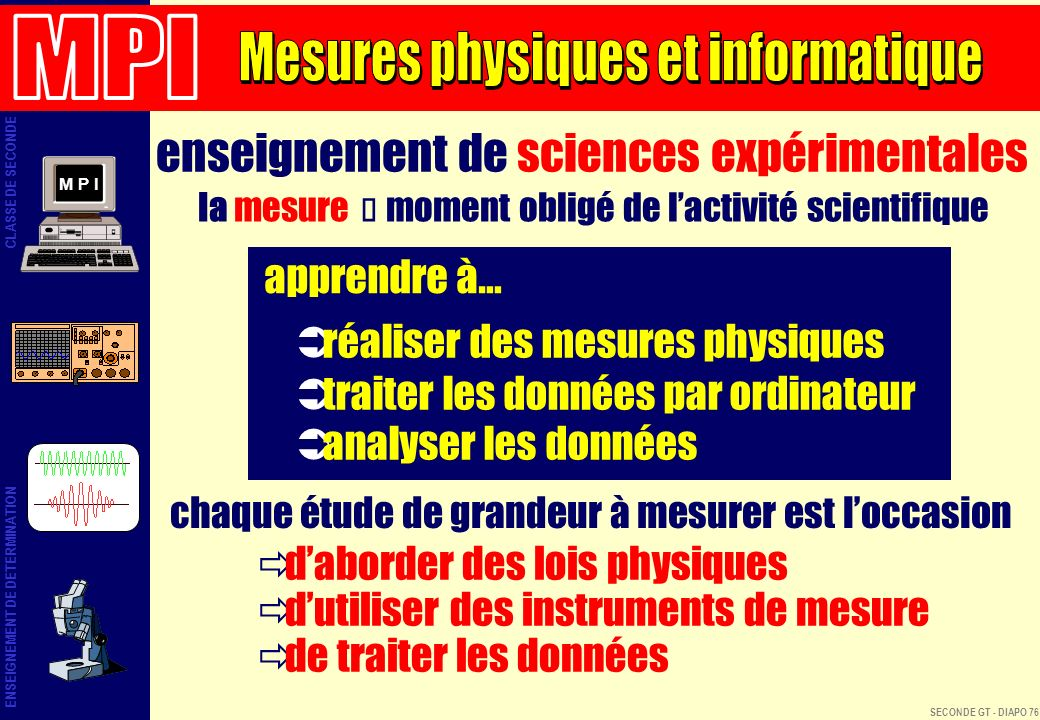 enseignement de sciences expérimentales