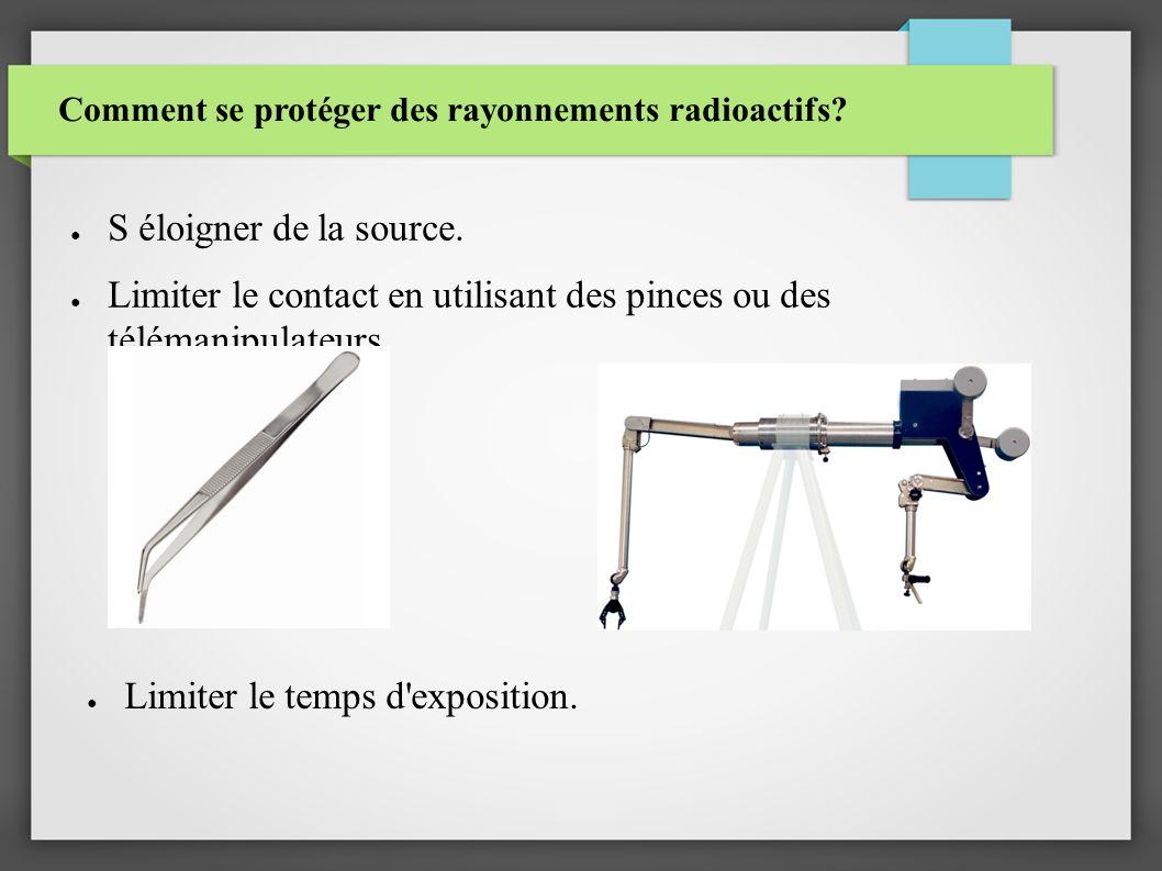 Comment se protéger des rayonnements radioactifs