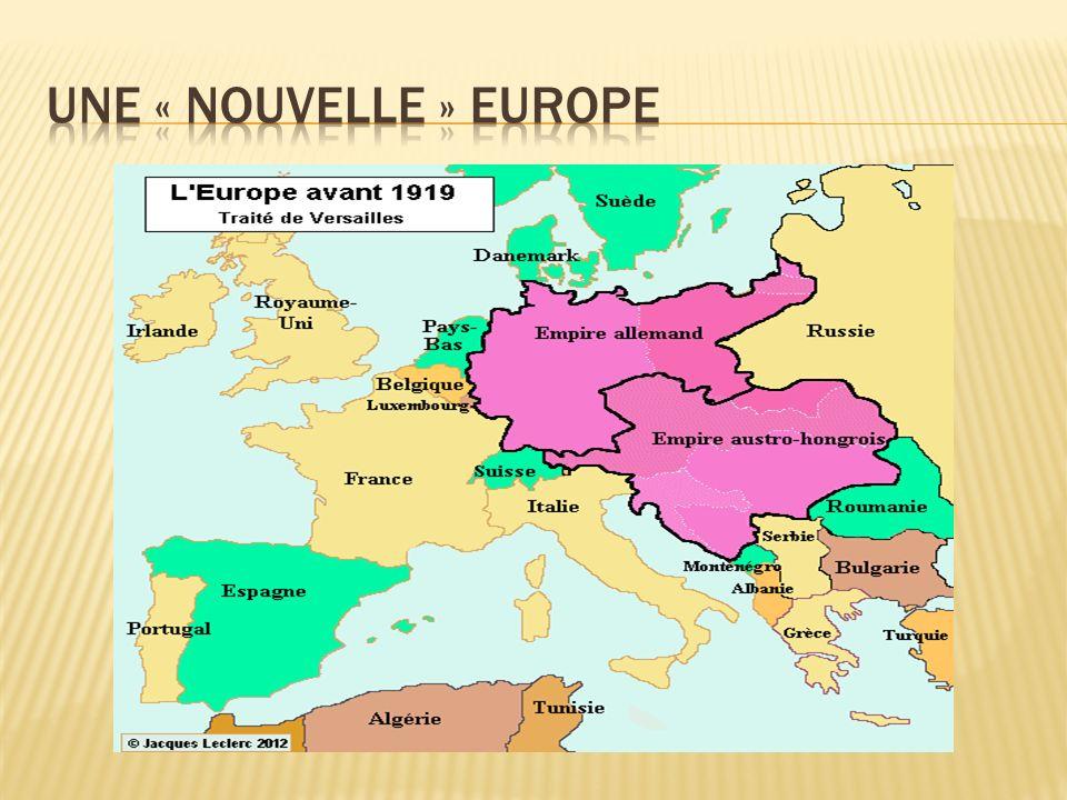 Une « nouvelle » Europe