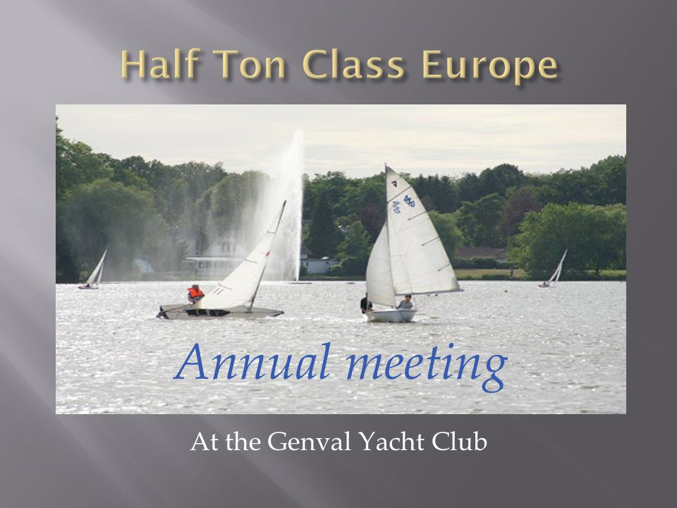 At the Genval Yacht Club