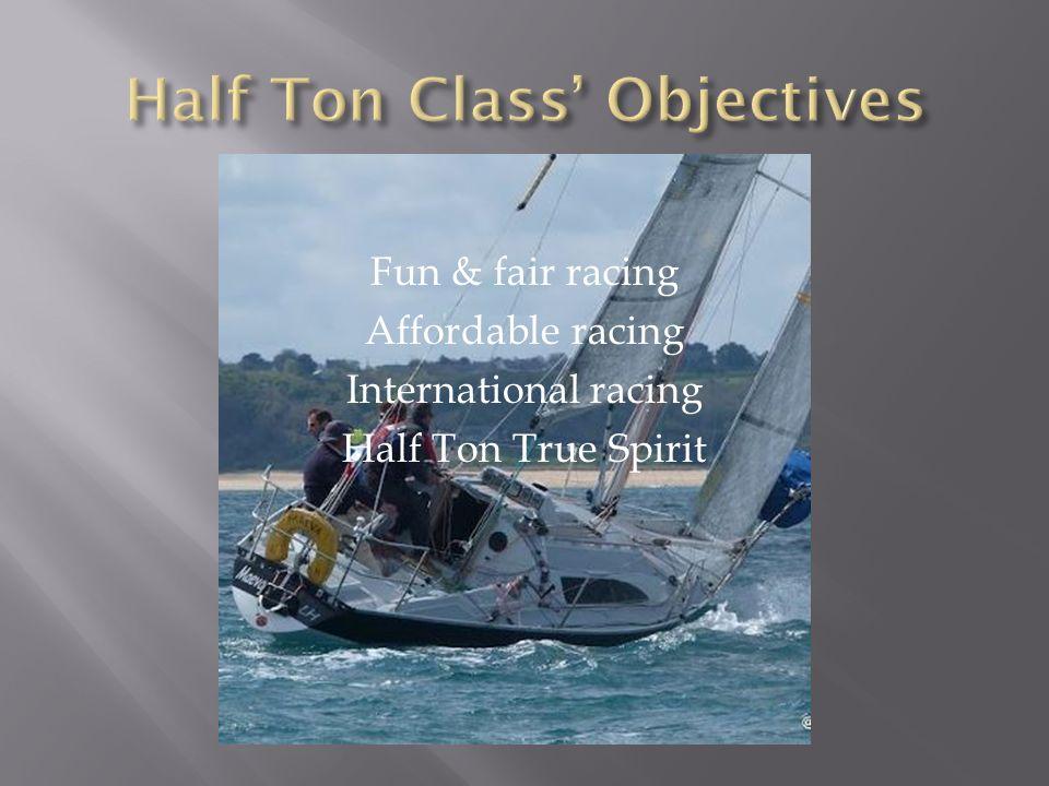 Half Ton Class' Objectives