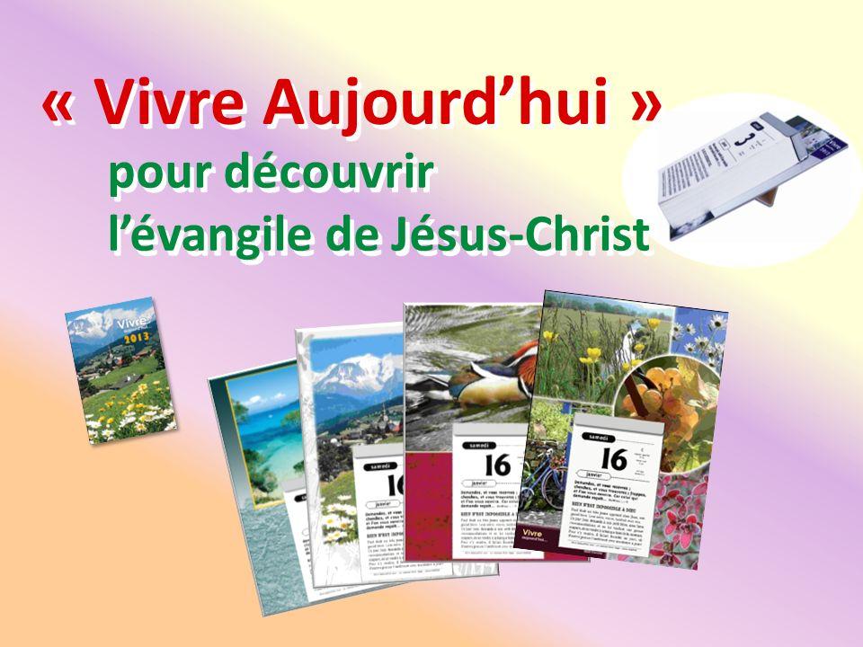 pour découvrir l'évangile de Jésus-Christ