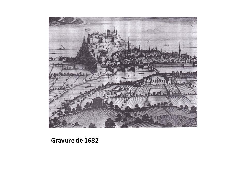 Gravure de 1682