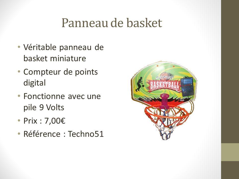 Panneau de basket Véritable panneau de basket miniature