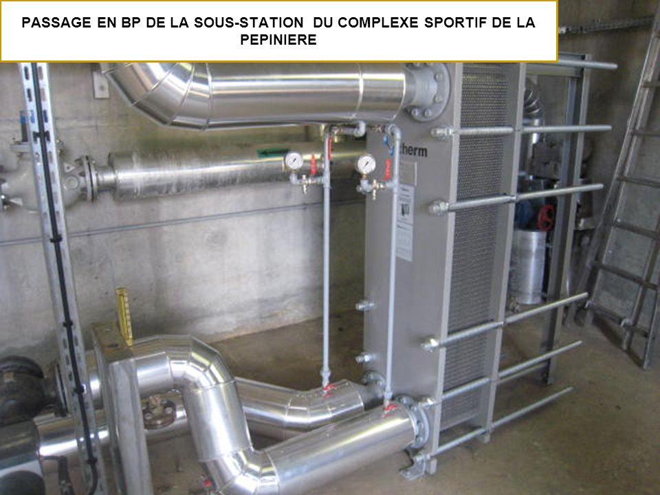 PASSAGE EN BP DE LA SOUS-STATION DU COMPLEXE SPORTIF DE LA PEPINIERE
