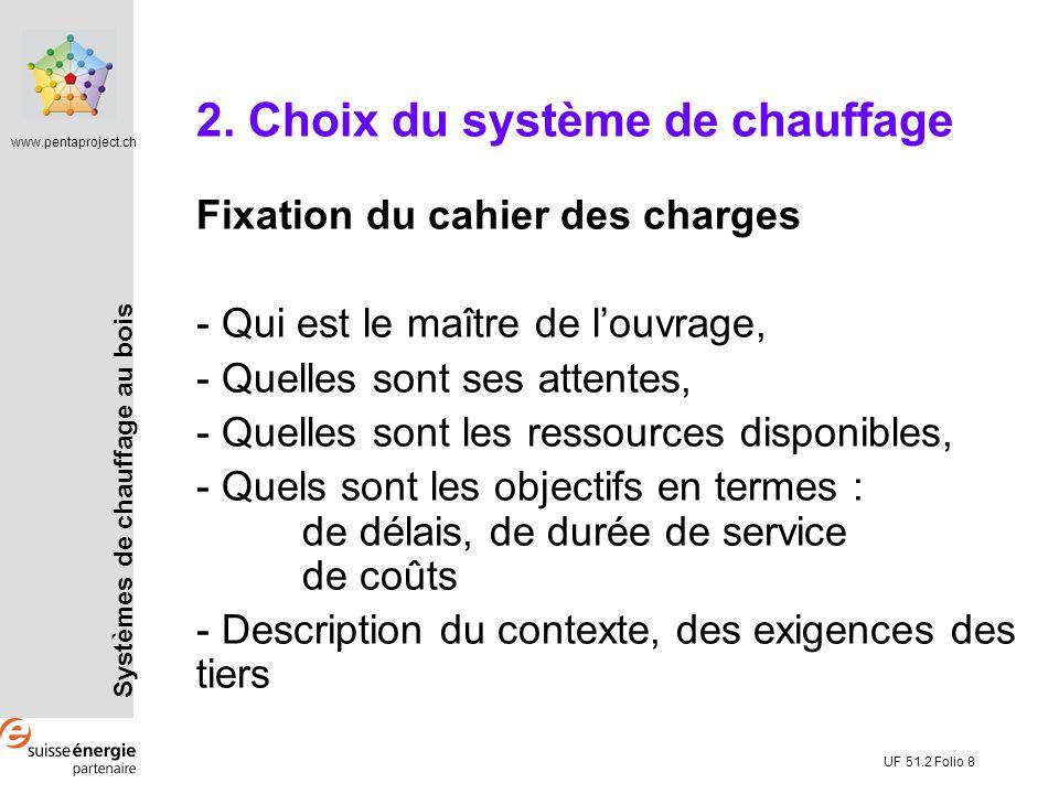 2. Choix du système de chauffage