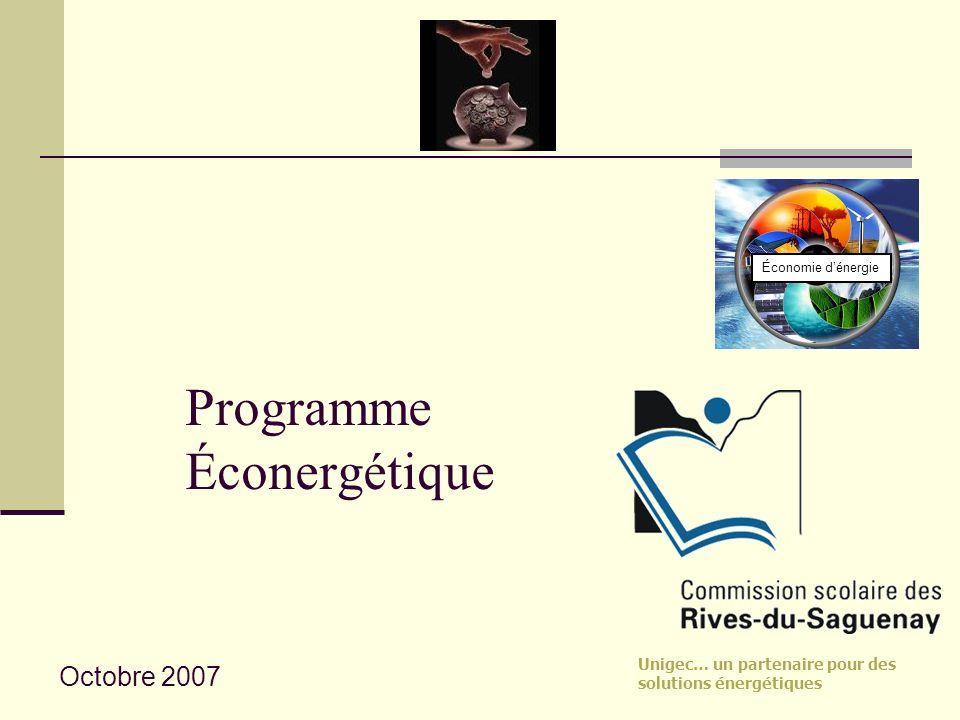 Programme Éconergétique